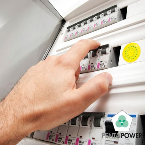 Penta Power 220 Tag op elektriciteitsbord innerbalance 4ever joke